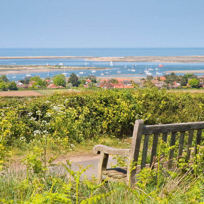 Barrow Common - Enjoy panoramic coastal views over Brancaster and sample the peace and quiet of Barrow Common.