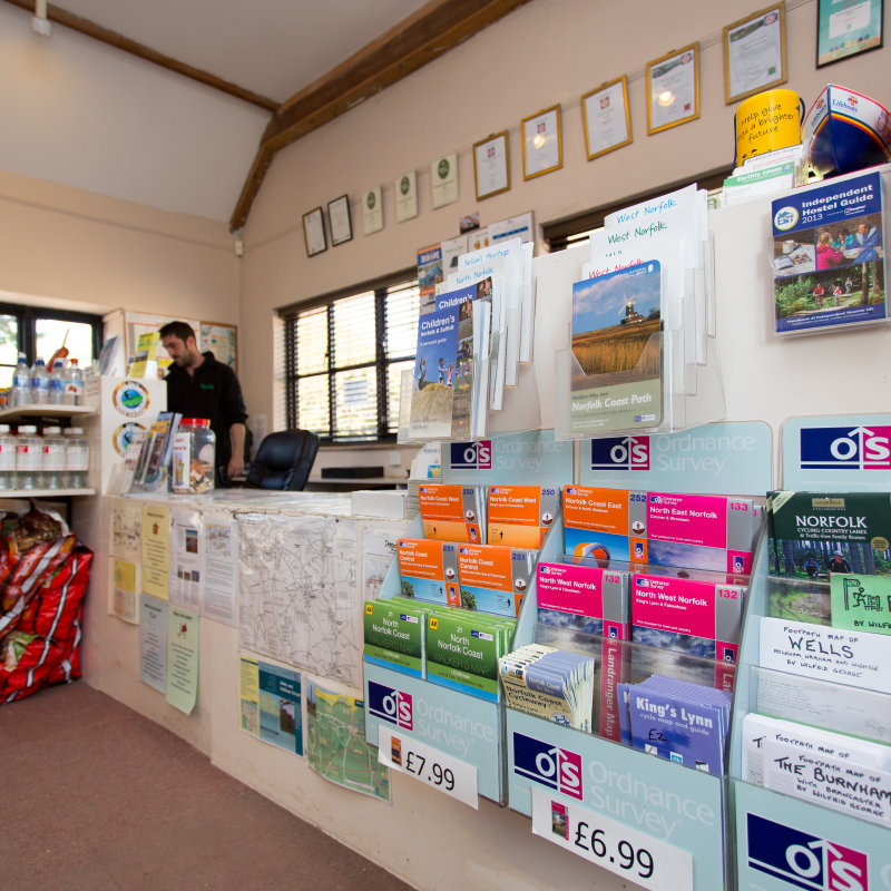 Deepdale Visitor Information Centre, Burnham Deepdale, Norfolk - Toys, Gifts & Souvenirs - Visitor Information Centre in Burnham Deepdale, opposite the church.  Offers local information, photocopying, faxing, camping equipment, calor gas, postcards, guide books, maps, photographs and prints. | Brancaster Staithe & Burnham Deepdale, North Norfolk Coast